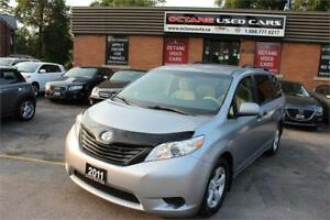 2011 Toyota Sienna LE ACCIDENT FREE! CERTIFIED ONLY $14995