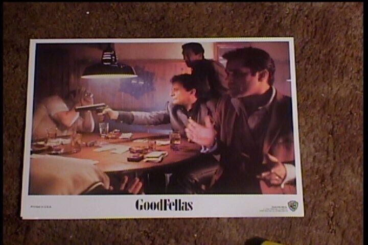 GOODFELLAS 1990 LOBBY CARD #3  SCORCESE DE NIRO