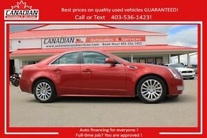 2012 Cadillac CTS Sedan Premium AWD $279/SEMI-MONTHLY OAC