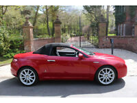 2008 ALFA ROMEO SPIDER 2.2 JTS LIMITED EDITION 38,612 MILES