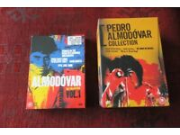 PEDRO ALMODOVAR COLLECTION 2 x BOX SETS 9 FILMS MINT