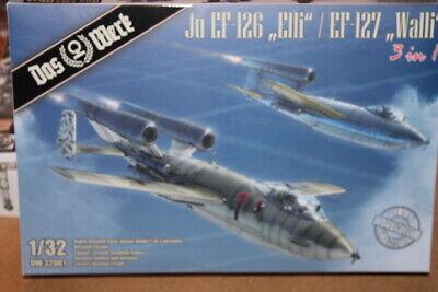 NEW DAS WERK (DW32001): Junkers Ju EF-126/ Ju EF-127 au 1/32