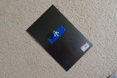 Blue Steel Walking Edger - 9 X 14 X 12 Radius - Concrete Tool