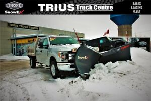 2017 FORD F-350 SUPER DUTY 4WD WITH V-PLOW