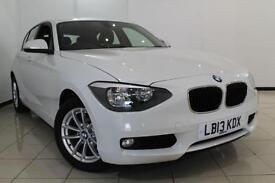 2013 13 BMW 1 SERIES 1.6 114I SE 5DR 101 BHP