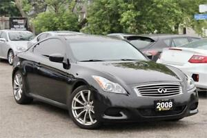 2008 Infiniti G37S - Accident Free - Navigation - Certified!