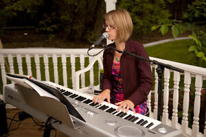 Professional wedding pianist and singer in ONE