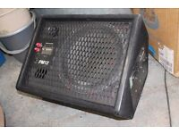 "TWO MONITORS Carlsbro powered monitor ( 12"" celestion G12Tspeaker) plus Yamaha monitor"
