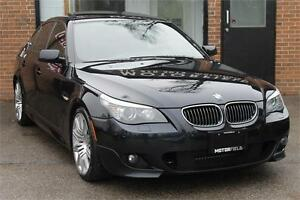2009 BMW 5 Series 550i M PKG *ONE OWNER | NO ACCIDENTS*