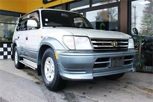 1997 Toyota Land Cruiser Prado TX 128K's Turbo-Diesel 4WD 7-seat
