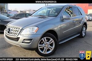 2011 MERCEDES ML350 BLUETEC 4X4/NAVIGATION/CAMERA/XENON/TOIT