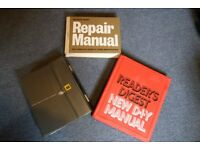 3 excellent Reader's Digest DIY and repair books