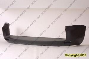 Bumper Rear Primed With Flare Hole CAPA Toyota Rav4 2006-2008