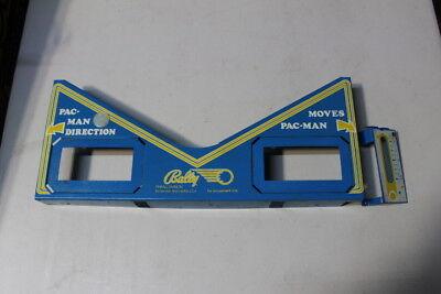BALLY PAC MAN Pinball Machine Apron & Shooter Cover for sale  Sebring