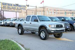 2001 Toyota Tacoma|DOUBLE CAB|V6|DIFF LOCK|Certified|2 Year W