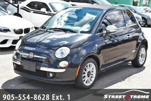 2013 FIAT 500 Lounge | Leather | Convertible | Sport Mode