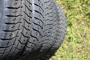 17  225/ 65 / 17 in WINTER TIRES in very good condition West Island Greater Montréal image 1