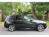 65 PLATE BMW X5 3.0 DIESEL M SPORT 36,554 MILES FBMWSH PANROOF IMPECCABLE