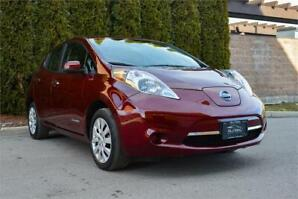 2016 Nissan Leaf S w/Quick Charge/One Owner/No Accidents