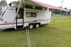 #1869 Regal 18' Shw, A/C, R/out awning 12 rego, free delivery Penrith Penrith Area Preview