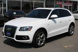 2012 Audi Q5 3.2L S-LINE WITH PANORAMIC ROOF NO ACCIDENDT