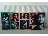 Large Bob marley wall piece
