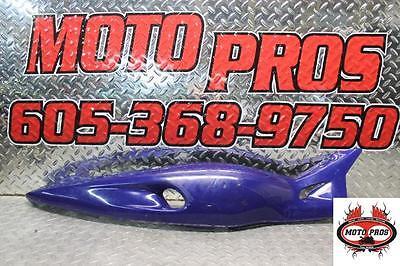 2001 Yamaha Yzf600r  Right Rear Back Tail Fairing Cowl Shroud