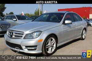 2013 MERCEDES-BENZ C300 4MATIC/AWD XENON/MAGS AMG/CLEAN CARPROOF