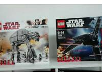 Star Wars Lego sets and mini figures