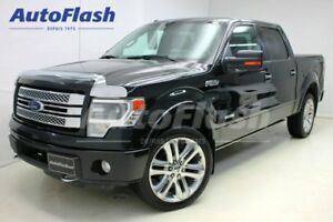 2014 Ford F-150 LIMITED 3.5L Ecoboost *Mag-22* GPS/Camera