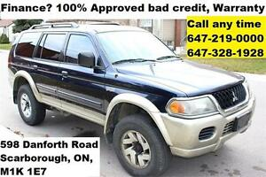 2003 Mitsubishi Montero Sport XLS FINANCE 100% Approved WARRANTY