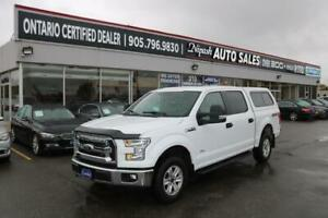 2015 Ford F-150 XLT CREW CAB 4X4 ECO BOOST NO ACCIDENTS 1-OWNER