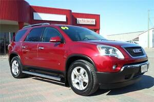 2009 GMC Acadia SLT1 AWD **3RD ROW SEATING/CLEAN CARPROOF**