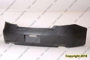 Bumper Rear Primed Coupe Honda Accord 2008-2012