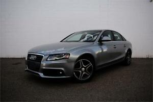 2009 AUDI A4 QUATTRO 2.0T | CERTIFIED | LEATHER | AWD | LOW KM |