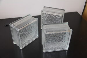 8 glass bricks