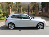 63 PLATE BMW 118d M SPORT 3 DOOR 1 PREV OWN 52,852 MILES REALLY WORTH A LOOK