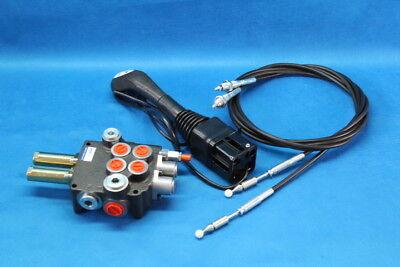 Hydraulic Kit Valve 2 Sections  Control Joystick Kubota L3400