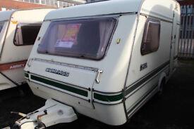 Compass Omega 1987 2 Berth Caravan £1200