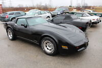 Auction of 1981 Corvette t-top