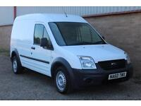 2010 60 Reg Ford Transit Connect 1.8TDCi ( 90PS ) T230 LWB Hi-Top White £4500