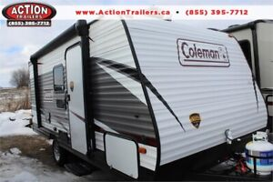 COLEMAN 17FQ SINGLE AXLE!! AFFORDABLE QUALITY RV $69 MONTHLY