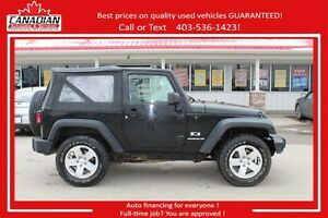 2009 Jeep Wrangler X NO ACCIDENTS 6 SPEED FINANCING FOR ALL!