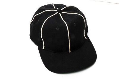 906872be881c7 Official Referee Hat - Black White Stripes W Adjustable Size- One Size Fits  All