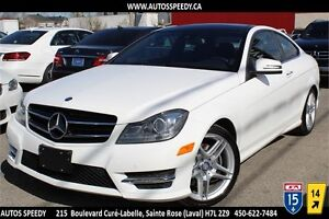 2014 MERCEDES C350C 4MATIC COUPE/NAVIG/TOIT PANORAMIC/XENON/