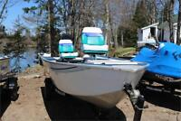 1996 GRUMMAN BACK TROLLER WITH 2012 40 MERC 4 STROKE Peterborough Peterborough Area Preview