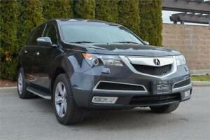2013 Acura MDX Premium /One Owner /BC Local /No Accidents