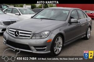 2013 MERCEDES-BENZ C350 4MATIC/AWD XENON, CLEAN CARPROOF