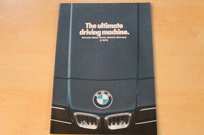 PROSPEKT BMW 7er e23 2//78