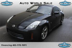 2006 NISSAN 350Z- BLACK WITH BROWN LEATHER |PREMIUM PACK